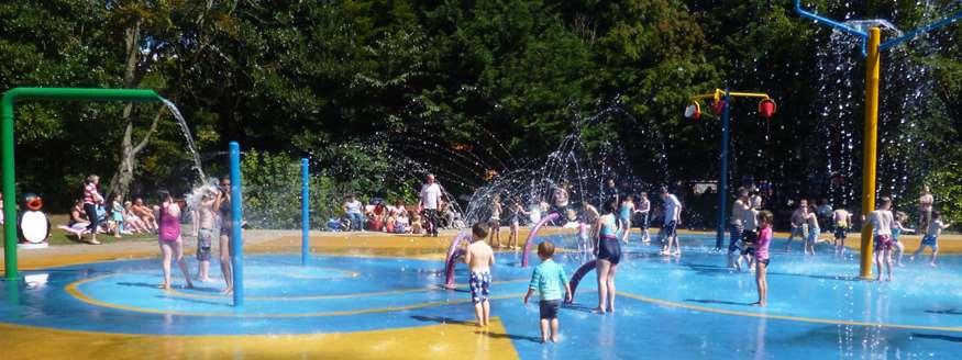Happy Mount Park Splash Park