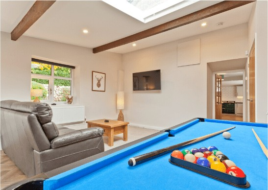 The Barn Cottage Games room 2