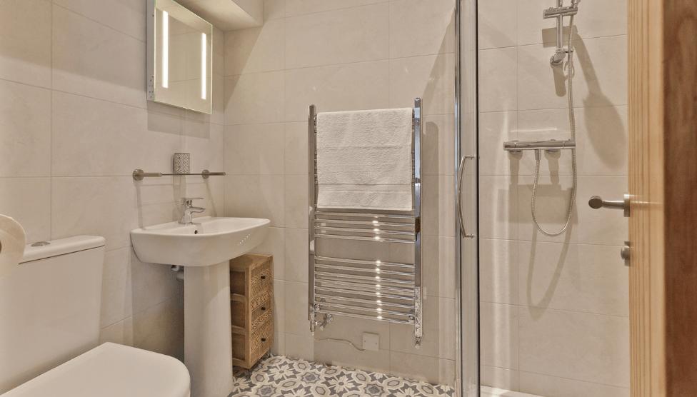 The Barn Cottage Bathroom 1