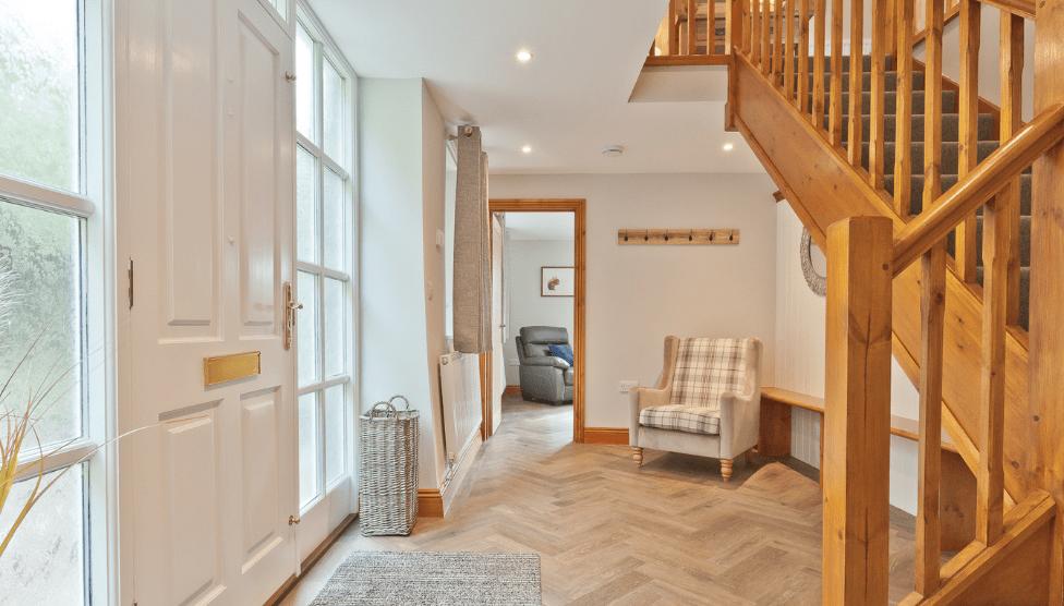 The Barn Cottage Hallway 1