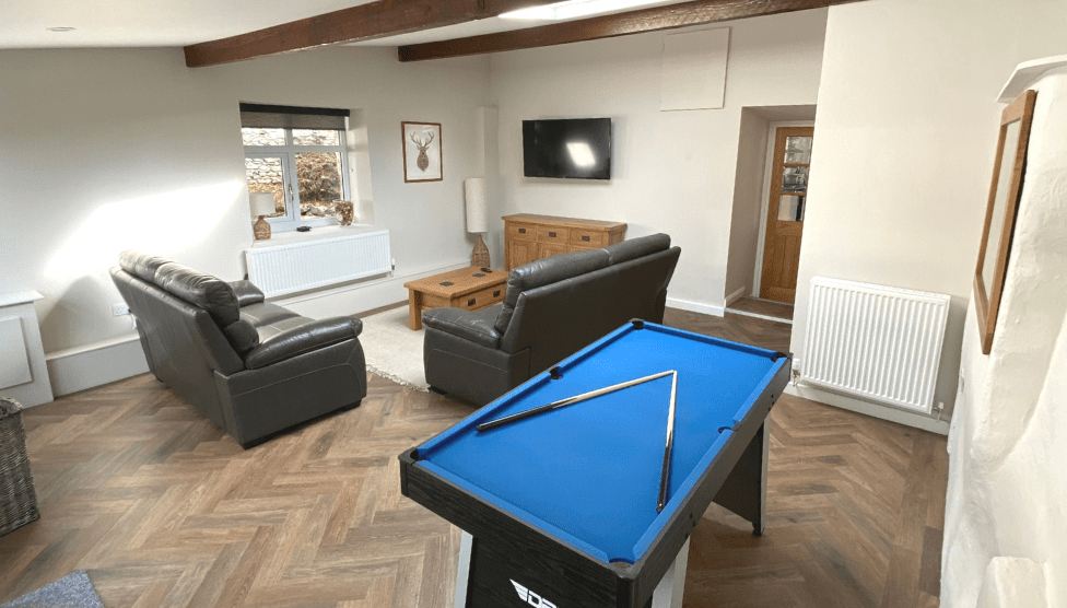 The Barn Cottage Games room 1