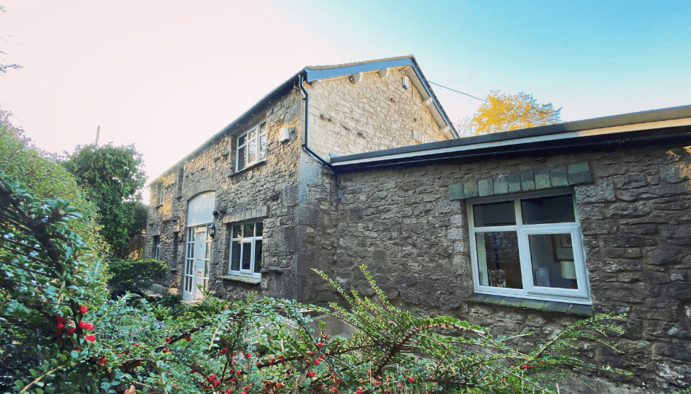 The Barn Cottage Front on View 1