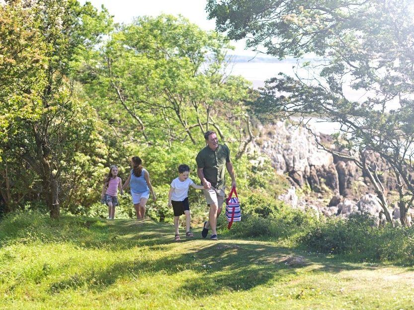 Family walk pathway
