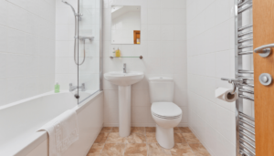 Bathroom in Hollins Cottage
