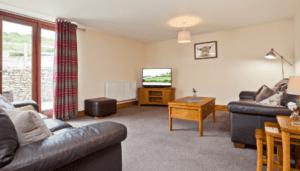 Hollins cottage living room 1